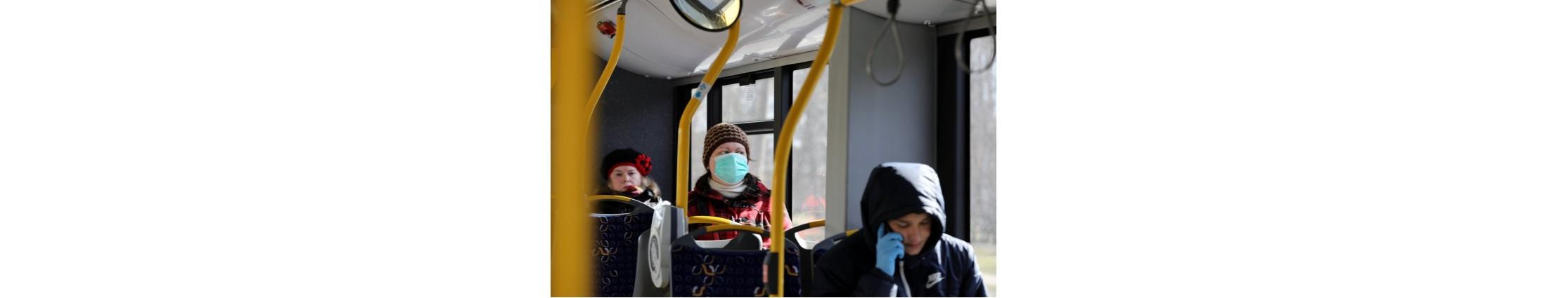 Obligāta aizsargmaska sabiedriskajā transportā. Kā to pareizi lietot?