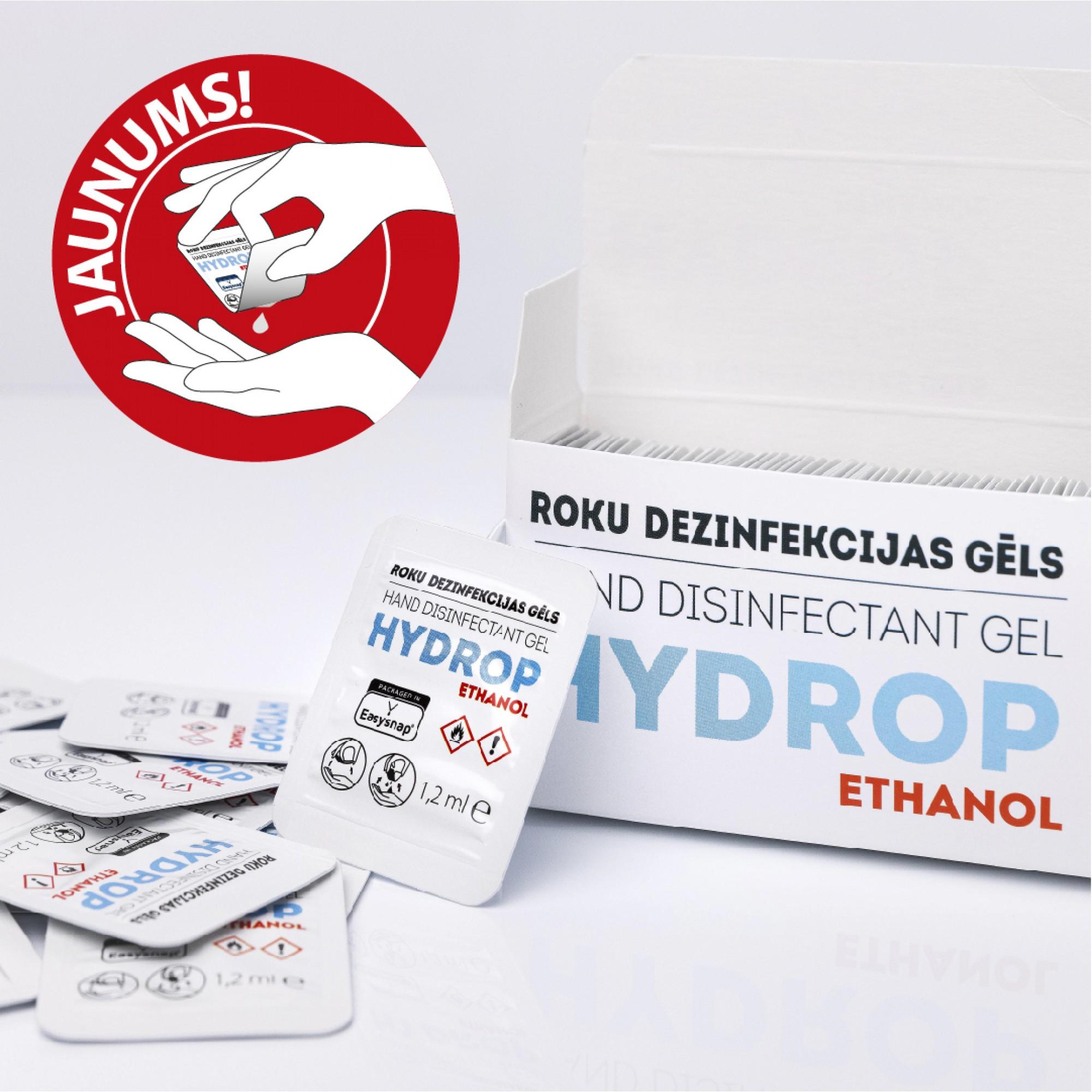 Roku dezinfekcijas gēls HYDROP (30 devas)