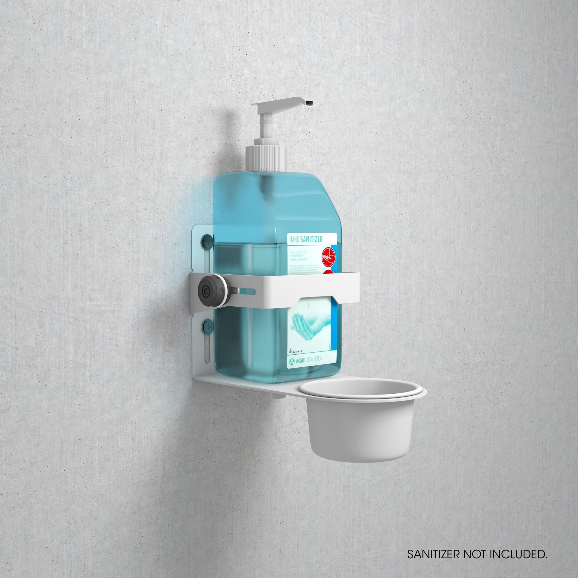 Statīvs dezinfekcijai GRAVITY MA DIS 01 W
