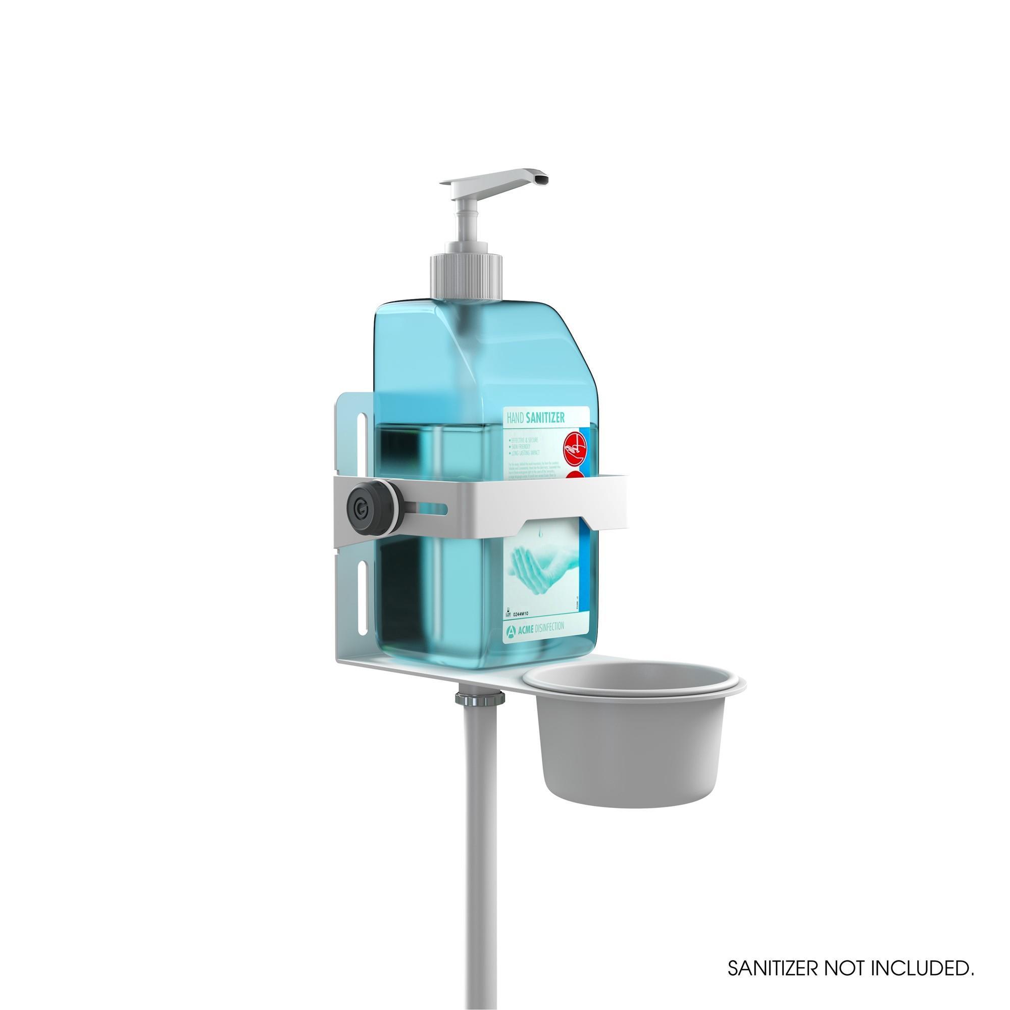 Statīvs dezinfekcijai GRAVITY MS 23 DIS 01 W