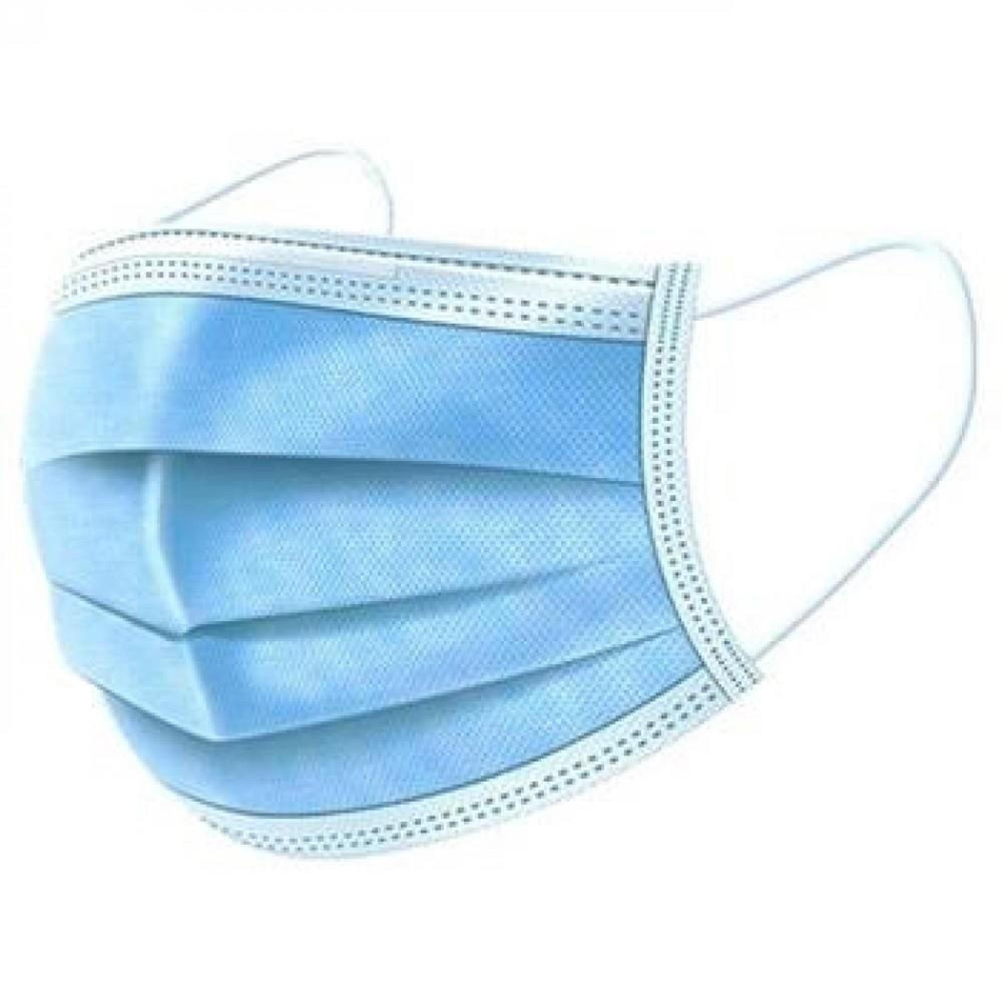JUF 3-kārtu medicīniskās maskas (II), 50 gab.